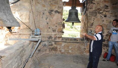 El Pepito va tornar ahir a fer sonar les campanes de Guàrdia.