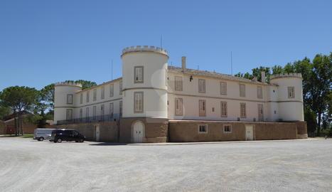 El celler Castell del Remei.