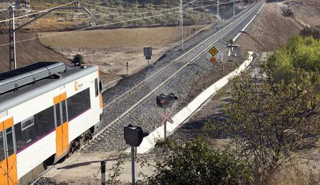 Imatge d'arxiu de la línia de Manresa.