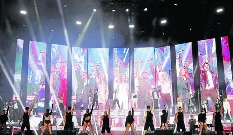 Concert de la gira d''Operación Triunfo' a Madrid.