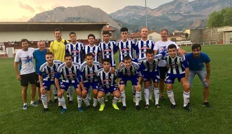 Plantilla amb la qual el CF Organyà afronta una nova temporada a la Segona Catalana.
