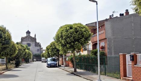 Nou enllumenat públic de Sant Ramon.