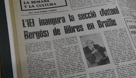 Qui era Antoni Bergós?