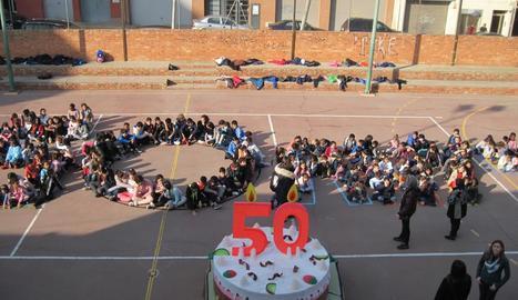 El col·legi Balàfia, que l'any passat va celebrar 50 anys, és un dels que més estrangers escolaritzen.