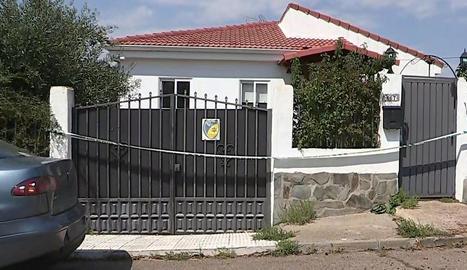 Imatge de la casa on van tenir lloc els successos.