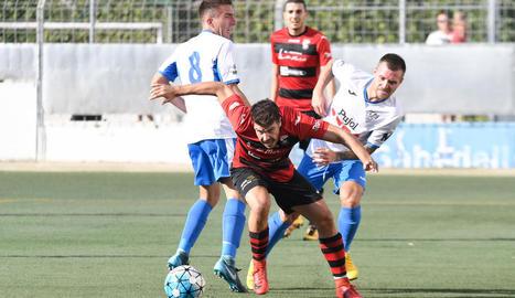 Mollerussa i EFAC van disputar un derbi molt igualat al llarg dels 90 minuts.