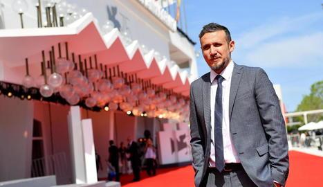 El realitzador italià Roberto Minervini, al festival de Venècia.