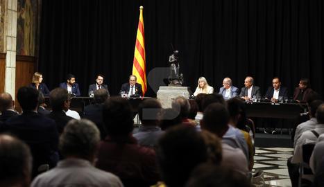 La firma del nou Acord Interprofessional de Catalunya.
