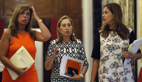 Ana Pastor convida Torra al Congrés per debatre sobre Catalunya