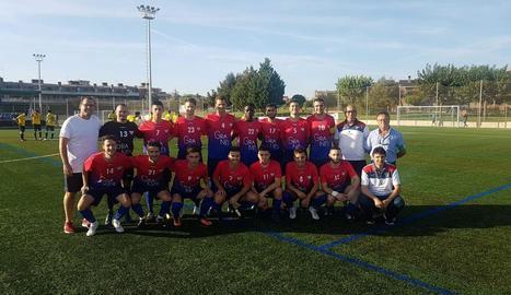 Plantilla amb la qual el CF Torrefarrera afronta aquesta nova temporada a Segona Catalana.