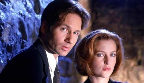 Mulder i Scully, en el seu millor moment.