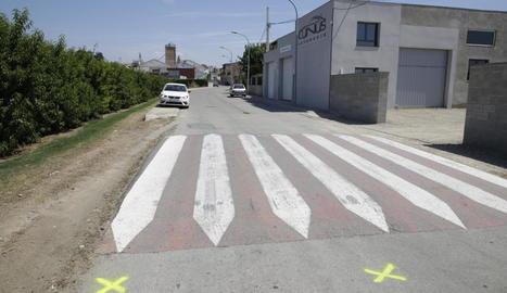 L'accident va tenir lloc als voltants de la zona esportiva d'Albesa.