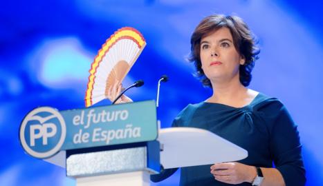 L'exvicepresidenta del Govern Soraya Sáenz de Santamaría.