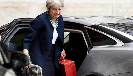 La 'premier' Theresa May.