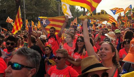 Manifestación en Barcelona 2018