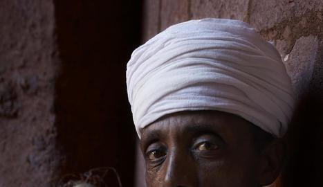 """Paisatges i gent - Melgosa va descobrir que """"els berbers són molt reticents a les fotos"""", per això les imatges del Marroc se centren gairebé exclusivament en els paisatges, que van meravellar el fotògraf lleidatà. Al contrari, """"a Etiòpi ..."""