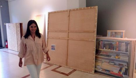 La galeria madrilenya va començar dilluns a muntar la mostra d'Ureña, que obrirà fins al 13 d'octubre.