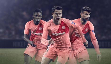 El tercer equipament del FC Barcelona farà homenatge a la Diagonal i a l'Eixample barceloní.