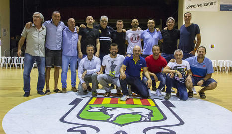 Homenatge a l'històric equip del CB Borges, que es va endur 3 ascensos