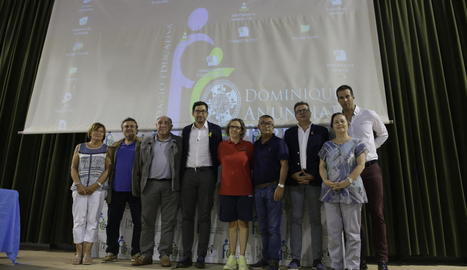 Homenatge de FEDAC als impulsors de la gimnàstica artística.