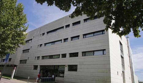 Imatge d'arxiu de l'edifici Polivalent, situat al campus de la UdL a Cappont.