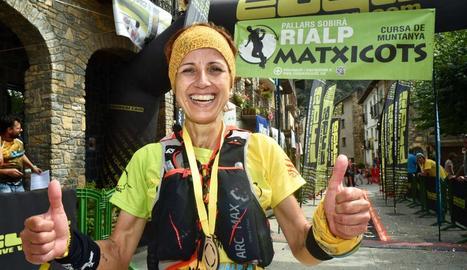 Isabel Pelegrina va ser la vencedora a la marató femenina.