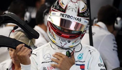 Hamilton intentarà avui incrementar l'avantatge al Mundial.