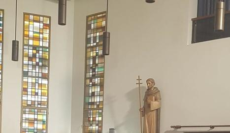 La formació va fer diferents intervencions durant l'eucaristia.