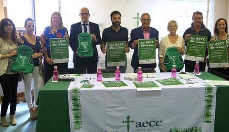 La presentació de la caminada contra el càncer a Lleida.