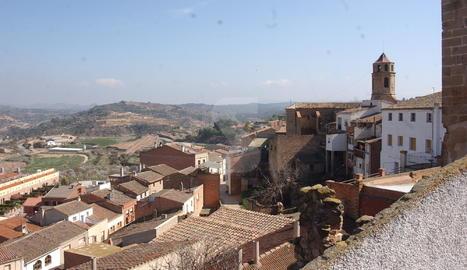 Vista del poble de l'Albagès.