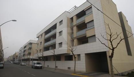 Imatge d'arxiu de pisos de protecció oficial de la Generalitat