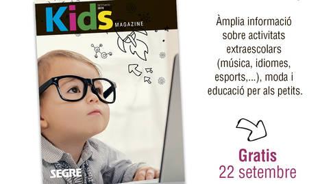 Aquest dissabte, KIDS Magazine amb SEGRE