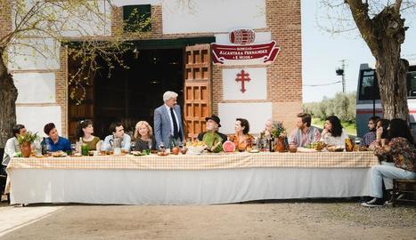 La família Alcántara estrena la temporada amb una festa.