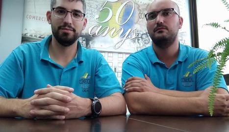 Gerard i Didac Paris: «Les noves generacions hem de seguir l'estela de l'èxit i aportar millores»