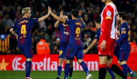 El Girona-Barça, previst per al 26 de gener, està pendent de si es disputa als Estats Units.