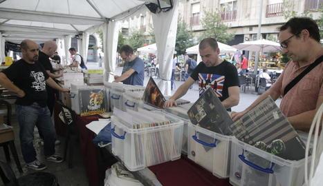 El Mercat de la Música estarà obert avui tot el dia als voltants de l'IEI.