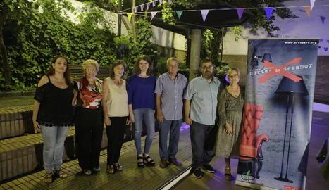 El sopar d'entrega del premi literari Cartes de Desamor va tenir lloc ahir amb les guanyadores.