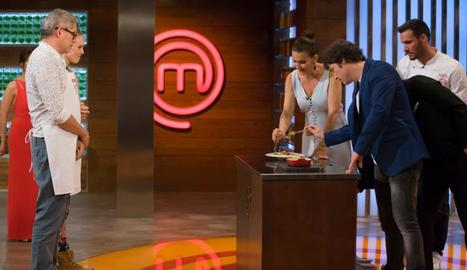 Craviotto visita 'MasterChef'