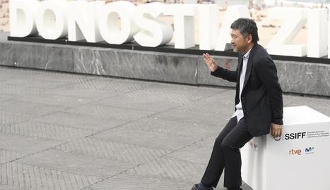 El director Hirokazu Kore-eda, premi Donostia a Sant Sebastià.