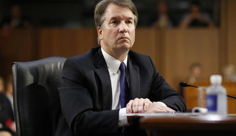 El jutge Brett Kavanaugh en una imatge d'arxiu.