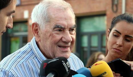 Ernest Maragall i Manuel Valls.