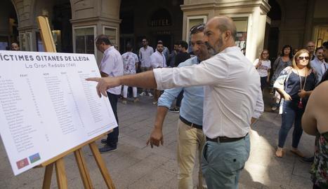 La llista de les víctimes gitanes de la gran Batuda a Lleida, l'intent d'extermini organitzat pel Marquès de l'Ensenada el 30 de juliol de 1749.