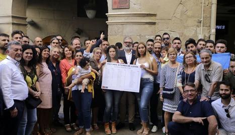 Lleida homenatja el col·lectiu gitano i retira el carrer Marquès de l'Ensenada