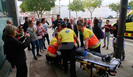 Càrregues policials al CAP de Cappont de Lleida