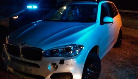 El vehicle del detingut.