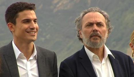 Coronado i Álex González a la sèrie.