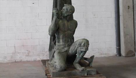 Imatge de l'escultura de Genaro Iglesias.