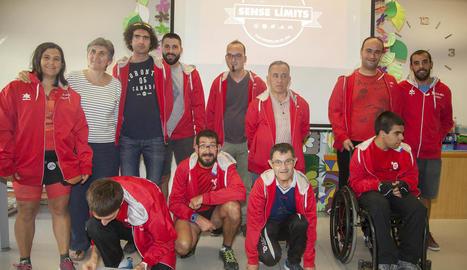 El Club Esportiu Alba competirà amb quinze atletes als Special Olympics