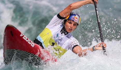 L'australiana Jessica Fox va ser la gran dominadora de la prova de canoa.