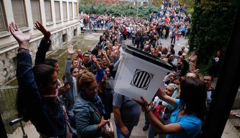 1-O. Votacions a l'IES Joan Oró de Lleida